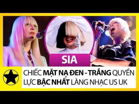 Sia – Chiếc Mặt Nạ Đen Trắng Quyền Lực Bậc Nhất Làng Nhạc US UK