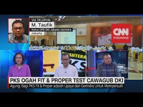 Pengamat: Penetapan Wagub DKI ada Masalah Trust Issue Antara PKS & Gerindra