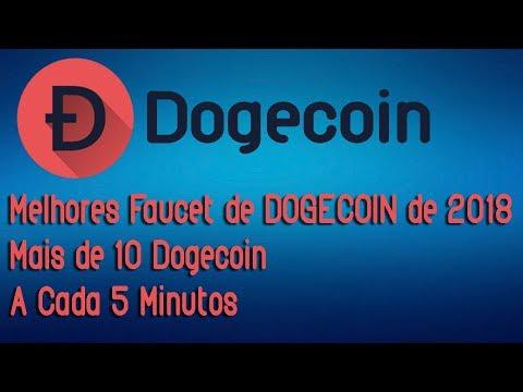 Melhores Faucet de DOGECOIN de 2018 | Mais de 10 Doge | A Cada 5 Minutos