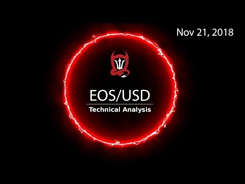 EOS Technical Analysis (EOS/USD) : Support Hot Line…  [11.21.2018]