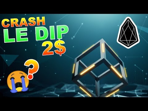 EOS 2$ LE DIP CRASH !?? analyse technique crypto monnaie BITCOIN