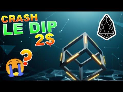 EOS 2$ LE DIP CRASH !?? analyse technique crypto monnaie BITCOIN