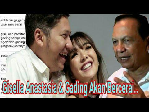 Pihak Keluarga Benarkan, Gisella Anastasia Ceraikan Gading Martin!! ada apa, Demikian..