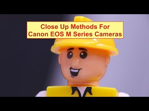 Close up photography with Canon EOS M cameras