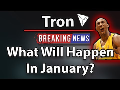 Tron (TRX) What Will Happen In January? (Huge Month!) Kobe Bryant Speech at NiTron Summit!