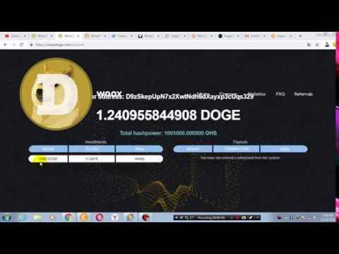 Mining DOGE terbaru 2 days free 1000 GHs