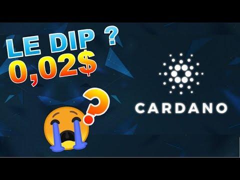 CARDANO 0.02$ LE DIP CRASH !??? ADA analyse technique crypto monnaie bitcoin
