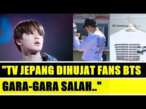 ADA-ADA AJA!! Tayangkan Permintaan Maaf Jimin BTS, TV Jepang Dihujat Gara-Gara Salah…
