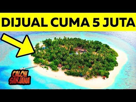 KOK MURAH BANGET..?! Inilah 10 Pulau Terindah yang Tidak Pernah ada Orang yang Mau Membelinya!