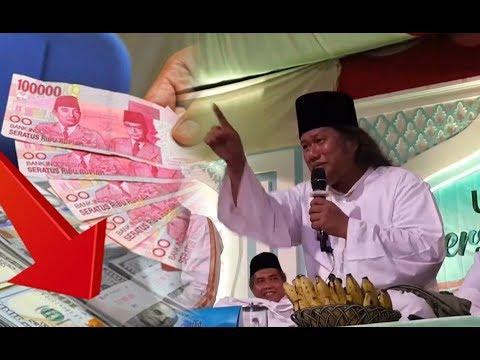 Gus Muwafiq Kenapa Uang Indonesia Rupiah Tidak Bisa stabil? Karena Ada Kejahatan Internasional !