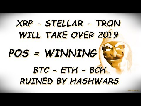 Cryptocurrency Market Update: Top Altcoins To Buy For 2019 Part 2 #XRP #XLM #TRX