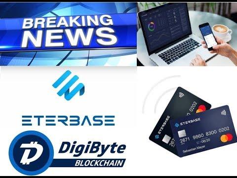 DigiByte (DGB) – Debit Card – Pungo Wallet – ETERBASE – DigiCafe IoS Version