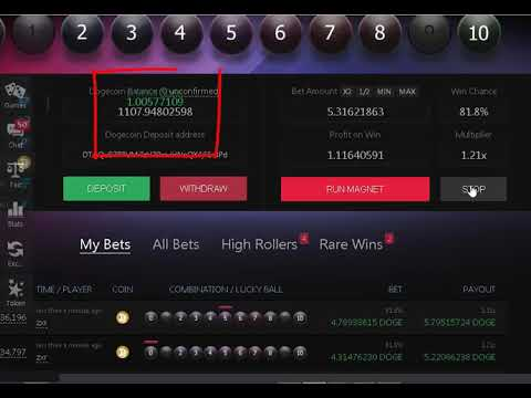Low Balance Luckygames HACK From 160 To 2230 Doge Btc Etc Eth Ltc Xrp Pot Xmr Btg Dgb PIvx BTCABC