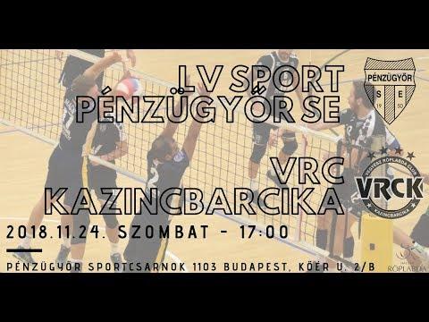 LV Sport PÉNZÜGYŐR SE – VRC KAZICBARCIKA 480p