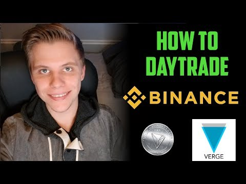 How To Day Trade Cryptocurrencies on Binance    Altcoin Trading 2018