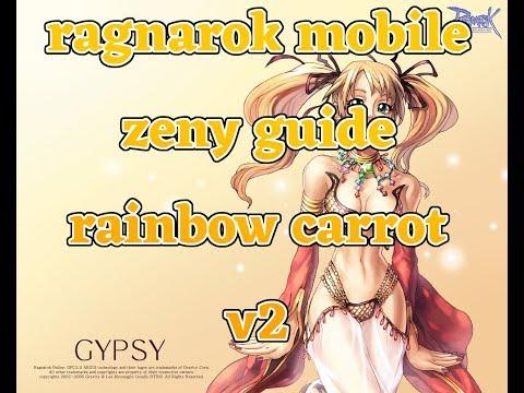 Ragnarok Mobile Zeny Guide! BCC Business! Zeny, Rainbow Carrot v2