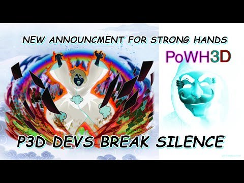 Cryptocurrency Market Update:: Powh3d Important Announcment? #Ethereum #eth #dapps