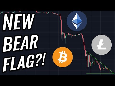 Bear Flag Developing In Bitcoin & Crypto Markets?! BTC, ETH, XRP, BCH & Cryptocurrency News!