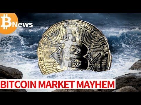 Bitcoin Market MAYHEM + Tron (TRX) on BAKKT? – Today's Crypto News