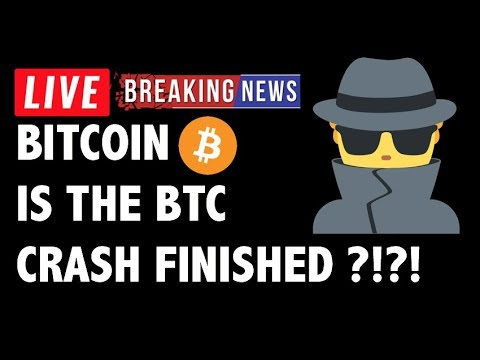 Is The Bitcoin (BTC) Crash Finished?! – Crypto Market Technical Analysis & Cryptocurrency News
