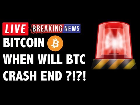 When Will The Bitcoin (BTC) Crash End?! – Crypto Market Technical Analysis & Cryptocurrency News