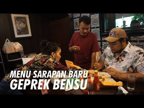 The Onsu Family – Ada Menu Sarapan Baru di Geprek Bensu Lho..