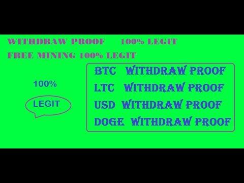 CRYPTOCURRENCY SITE 100% LEGIT WITHDRAW PROOF  FREE MINING BTC, LTC ,USD ,DOGE