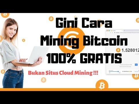 CARA MINING BITCOIN DI PC & ANDROID 1000% GRATIS !!!! (NO DEPO – BUKAN SITUS CLOUD MINING)