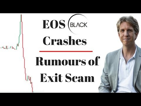 EOS Black Crashes 80% in 4 hours – Rumours of Exit Scam