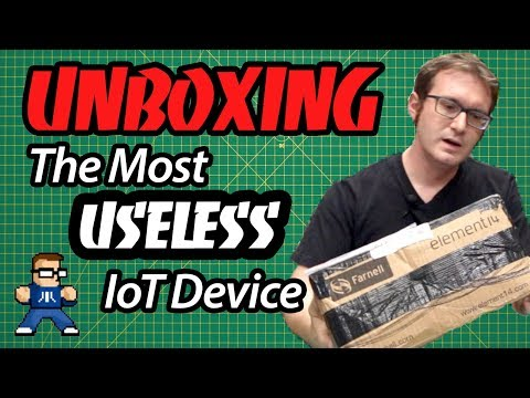 Unboxing The Most Useless IoT Device Ever