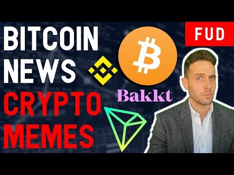 BITCOIN PUMPS…to $4K! CRYPTO MEMES WILL SAVE US!! TRON TRX Binance BNB XRP Bakkt