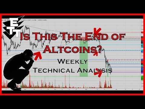 Crypto Technical Analysis: The End of Altcoins? ETH, BCH, XRP, NEO, EOS, XMR