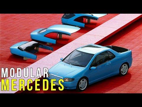 Mercedes-Benz VRC – 4 Cars In One