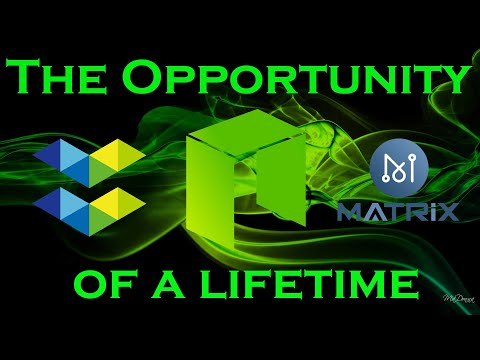 The Opportunity of a Lifetime $ELA $NEO $MAN