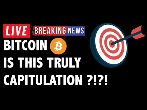 Is This Truly Capitulation for Bitcoin (BTC)?! – Crypto Market Analysis & Cryptocurrency News