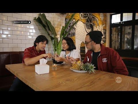 Teh Sarah Dan Boni Icip Icip Makanan Yang Ada Di Restoran Barunya Chicco Jerikho