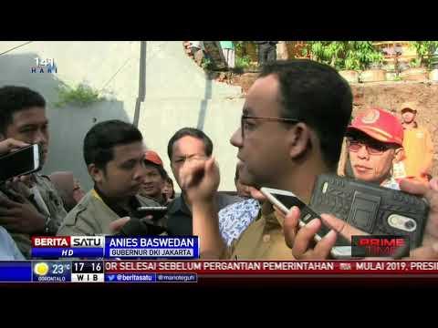 Longsor di Pasar Rebo, Anies Sebut Ada Kesalahan Peruntukkan Lahan