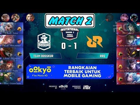 Soloz Harith Tak Ada Obat ! Bantai RRQ !!! Team Bosskur vs RRQ Match 2 MSL Season 2 MLBB