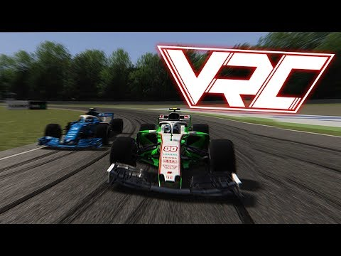 VRC F1 Assetto Corsa Season 2 HIGHLIGHTS – HUNGARORING #7