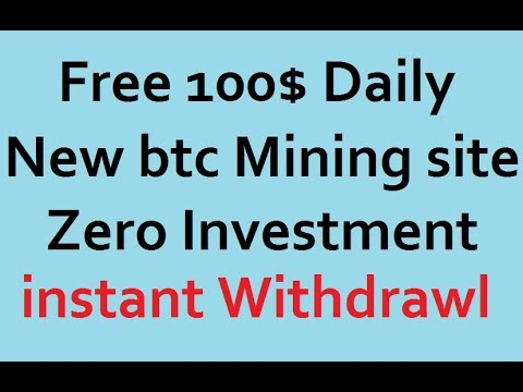 Free Earn 100$ Dollar Daily With Bitcoin Mining 2018