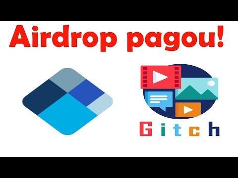 BLOCKCHAIN PAGOU ! E novo Airdrop Gitch  com prêmios de até 20 ETH.