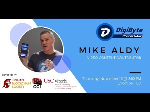The DigiByte Blockchain Presentation at The University of Southern California