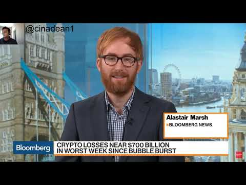 Why does Cryptocurrency keep Crashing!? | Bloomberg News