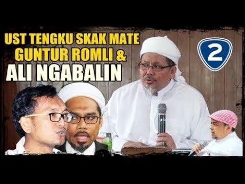 GA ADA LAWAN..! Mas romli dan ngabalin ketampol oleh ustadz Tengku Zulkarnain