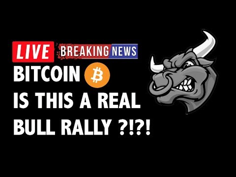 Is This A Real Bull Rally for Bitcoin (BTC)?! – Crypto Market Analysis & Cryptocurrency News