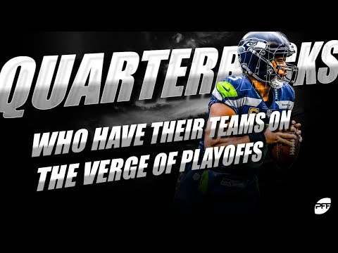 Quarterbacks who have their teams on the verge of the playoffs | PFF