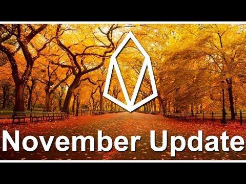 EOS November catch up