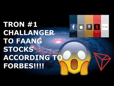TRON #1 CHALLANGER TO FAANG STOCKS ACCORDING TO FORBES!!!!
