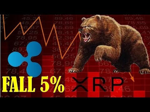 XRP takes a Tumble as Cryptocurrency Falls by More than 5% – Bear Market Catches up