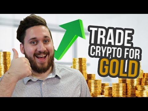 Trade Crypto for REAL Gold // CryptoCurrency // TMTG Coin